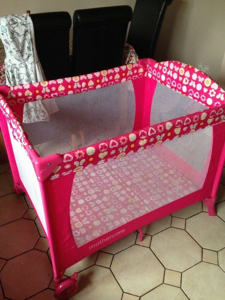 Mothercare bed play, baby chair