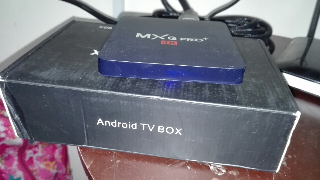 Tv box smart android