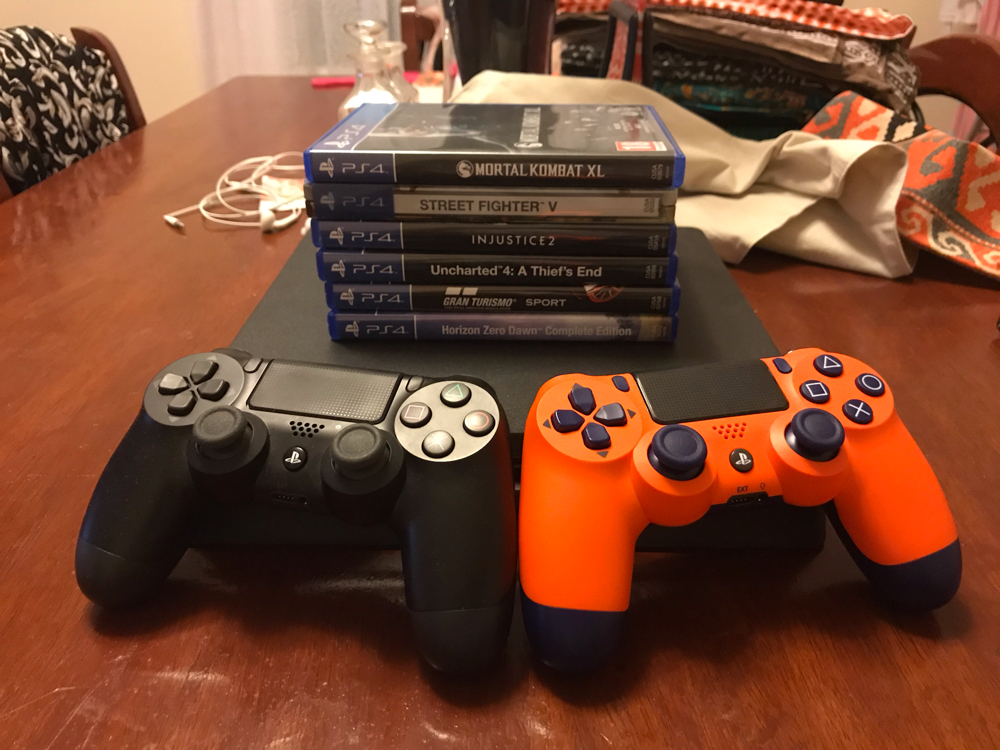 PS4 Bundle (PERFECT CONDITION)