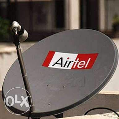 Dish installation and fixing-50362787