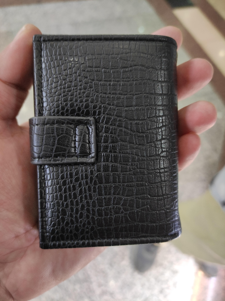 3 time  Folding Wallet with Card Holder