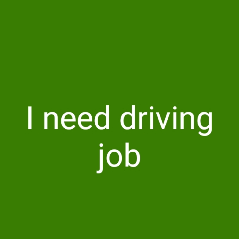 I m driver i have light licence i need the job experience 8 years what's app 66909807