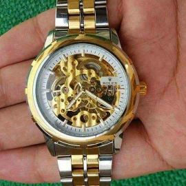 ROLEX COPY  (( AUTOMATIC))  SKELETON WAT