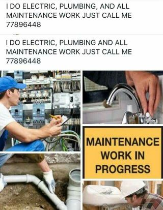 ELECTRIC AND PLUMBING SERVISING SO CALL