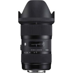 New! Sigma 18-35mm f/1.8