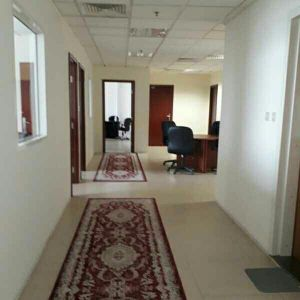 Office space fully furnished available