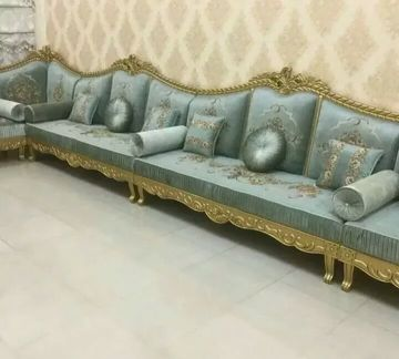 we make new sofa and curtains