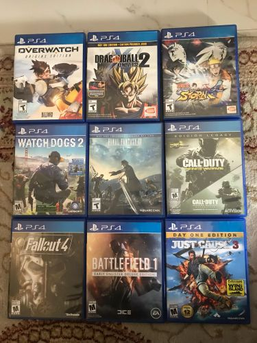 PS4 Games all 900