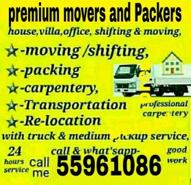 premium movers and Packers