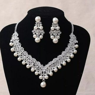 Bridal Necklace sets brand new