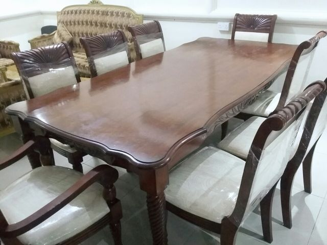 dining table 8 chair