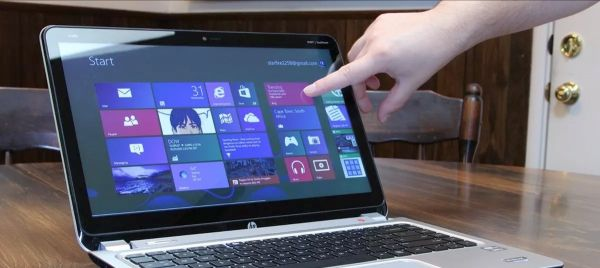 Hp i7 touch screen slim laptop offer