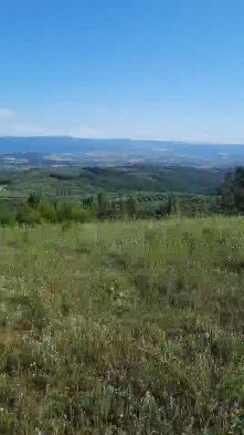 Land with sea & valley views