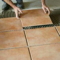 we working tiles