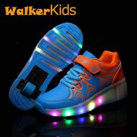 Roller LED shoes
