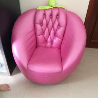 Pink moving chair
