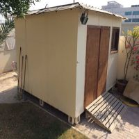 Shed with AC