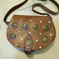 old coins bag