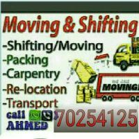moving shifting transportation services