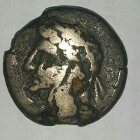 old roman coin