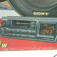 new Sony radio with two speakers