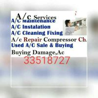 AC maintenance and selling