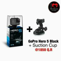 GoPro Hero 5 Black Includling SuctionCup