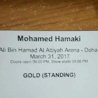 One Ticket available for Hamaki Concert