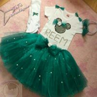 tutu and pearl set