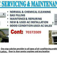 A/C SERVICING & MAINTENANCE
