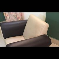 Leather kids chair