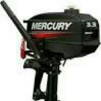 required mercury two stroke 3.3 hp