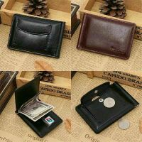 Wallets Leather Card Cash Holder