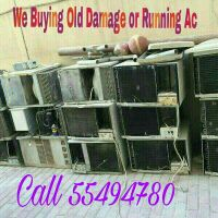 We buying scrap  ac and damaged ac