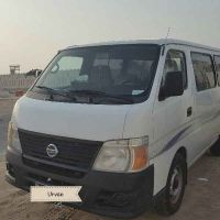 Nissan urban with Driver 4 rent.