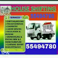 Moving/Shifting, carpentry services