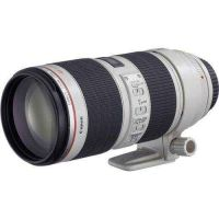 New! Canon EF 70-200mm F 2 .8L II IS USM