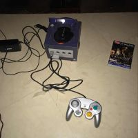 GameCube with game