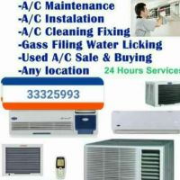 *We Are doing A/C services, repairing, f