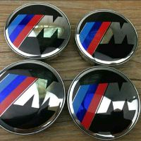 BMW rim caps M power