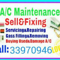 I do A / C service and fixing and repair