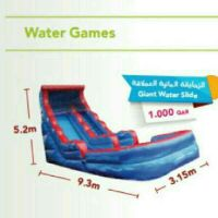 Gaient water slide