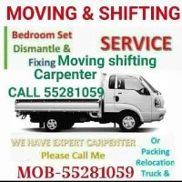 Moving shifting carpenter service home,