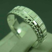 Wedding Silver Ring