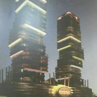 For sale the towers are two billion and