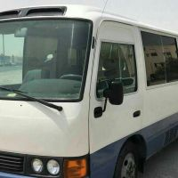 Bus coaster 25 seats for rent with drive