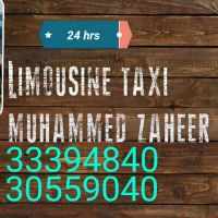 24 hrs service taxi