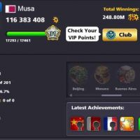 8 ball pool special account sale