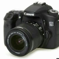 Canon 70d like new with lens 18-55