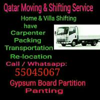 Moving/Shifting /Carpentey,Services